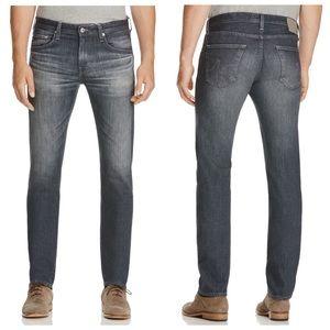 AG Jeans Matchbox Slim Straight Epic Gray Wash NWT